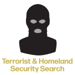 terrorist and homeland security search